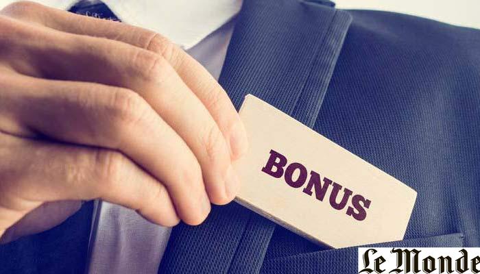Le bonus et primes perçus en 2018 sont-ils imposables ? (Le monde)