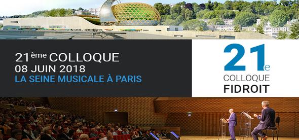 Le programme du 21e Colloque de Fidroit (Investissement Conseils)