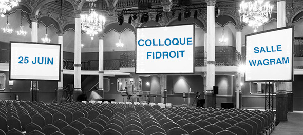 Colloque Fidroit 2015