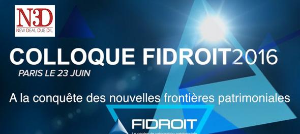 Colloque Fidroit