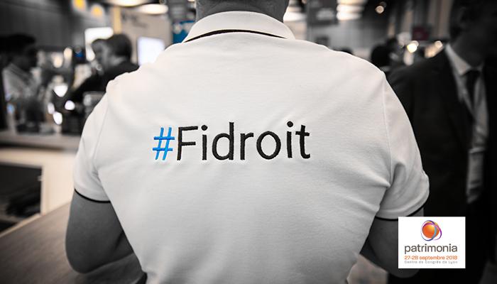 L'équipe Fidroit sera présente à Patrimonia les 27 et 28 septembre