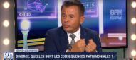 Olivier Rozenfeld conséquences patrimoniales divorce BFM