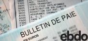 Les français découvrent leur premier bulletin de paie et de pension de l'année (Ebdo)