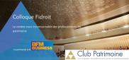 CGP Entrepreneurs partenaire du colloque Fidroit 2018 (Club Patrimoine)