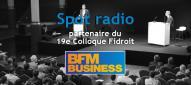 BFM Business partenaire Colloque Fidroit spot radio